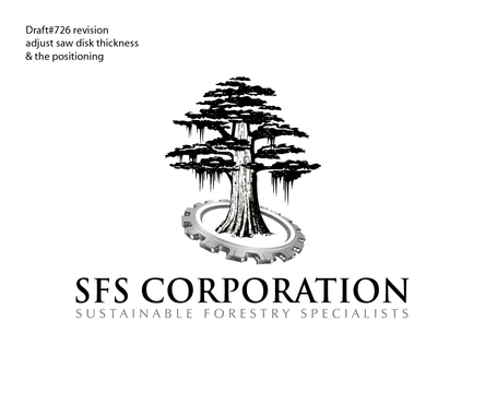 Design by EEgraphix For Logo for Forestry equipment sales and swamp logging company