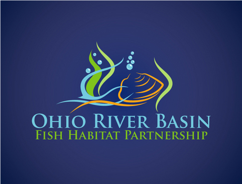 Ohio River Basin Fish Habitat Partnership or ORBFHP A Logo, Monogram, or Icon  Draft # 37 by vector