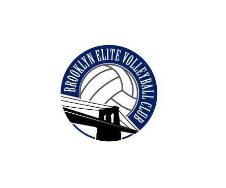 Brooklyn Elite Volleyball A Logo, Monogram, or Icon  Draft # 16 by Designeye