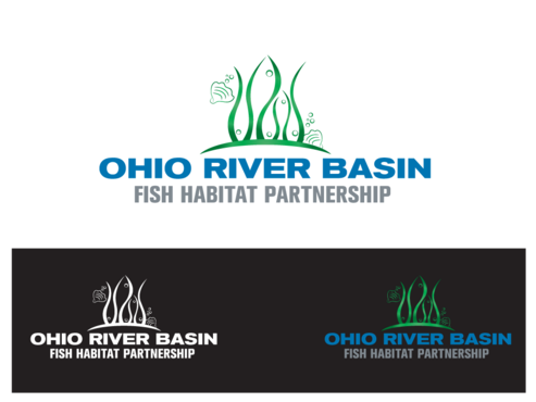 Ohio River Basin Fish Habitat Partnership or ORBFHP A Logo, Monogram, or Icon  Draft # 38 by aurelizza