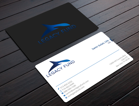Legacy Fund LP Business Cards and Stationery  Draft # 88 by YADESIGN