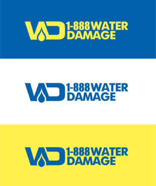 1-888-Water-Damage A Logo, Monogram, or Icon  Draft # 81 by B4BEST