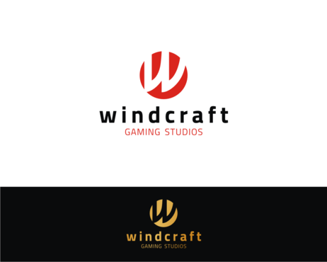 Windcraft Gaming Studios A Logo, Monogram, or Icon  Draft # 59 by simpleway
