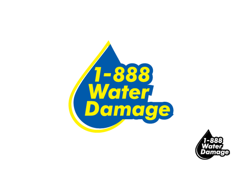 1-888-Water-Damage A Logo, Monogram, or Icon  Draft # 98 by Sacril