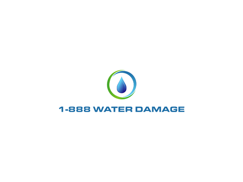 1-888-Water-Damage A Logo, Monogram, or Icon  Draft # 102 by inzdesign