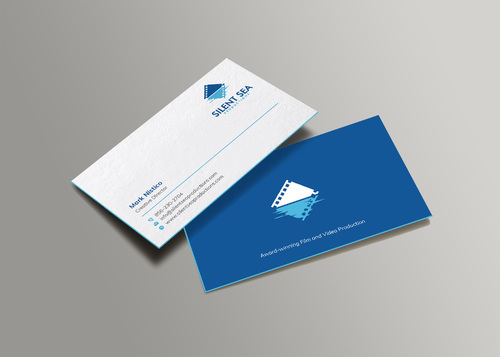 Silent Sea Productions Business Cards and Stationery  Draft # 4 by Xpert
