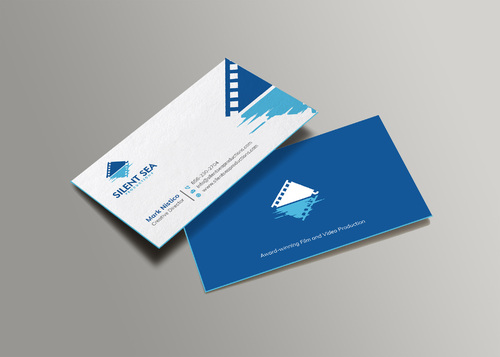Silent Sea Productions Business Cards and Stationery  Draft # 5 by Xpert