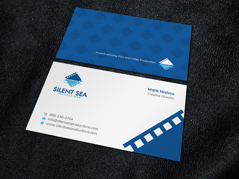 Silent Sea Productions Business Cards and Stationery  Draft # 7 by Xpert