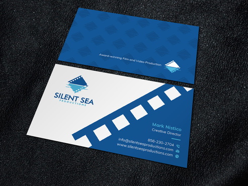 Silent Sea Productions Business Cards and Stationery  Draft # 8 by Xpert