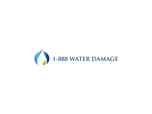 1-888-Water-Damage A Logo, Monogram, or Icon  Draft # 103 by inzdesign