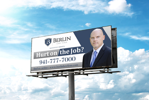 Design by CreativeMonster For Law Firm Billboard