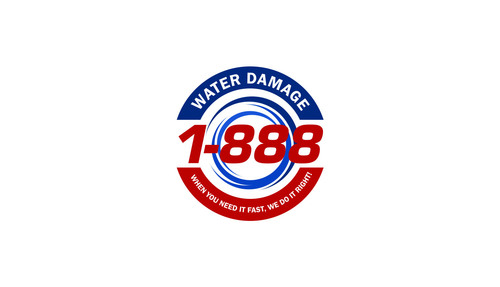 1-888-Water-Damage A Logo, Monogram, or Icon  Draft # 111 by LouisAndalcreative