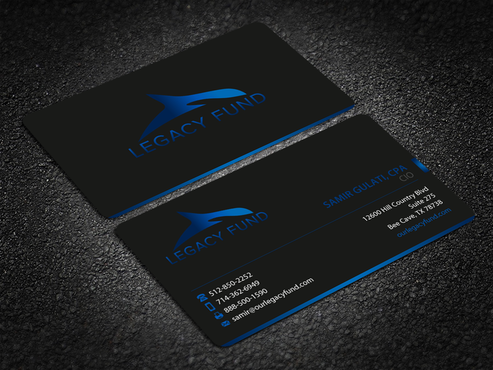 Legacy Fund LP Business Cards and Stationery Winning Design by einsanimation