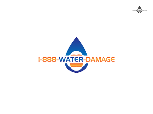 1-888-Water-Damage A Logo, Monogram, or Icon  Draft # 126 by Forceman786