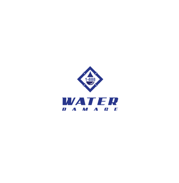1-888-Water-Damage A Logo, Monogram, or Icon  Draft # 128 by FUSIONdesign