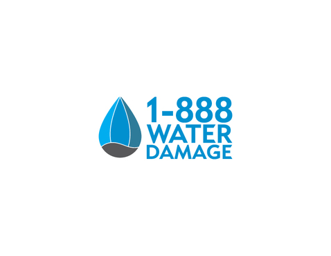 1-888-Water-Damage A Logo, Monogram, or Icon  Draft # 129 by Nicanice
