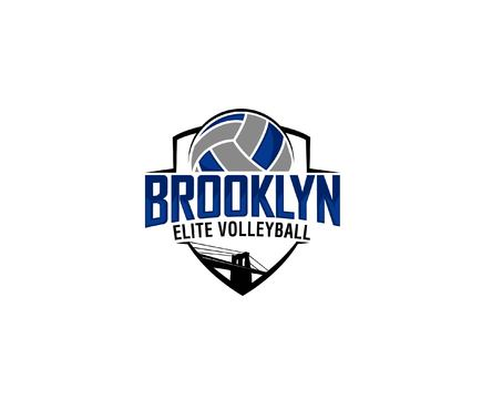 Brooklyn Elite Volleyball Logo Winning Design by Designeye