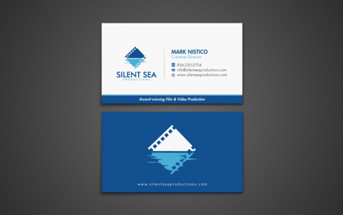 Silent Sea Productions Business Cards and Stationery Winning Design by einsanimation