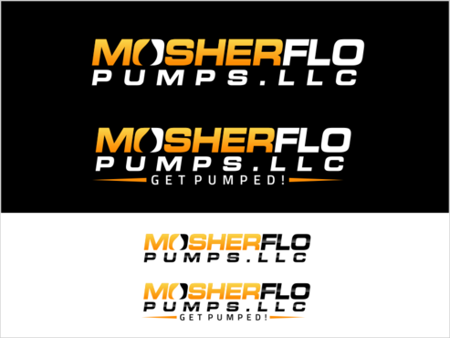 Mosherflo Pumps, LLC. A Logo, Monogram, or Icon  Draft # 63 by thebullet