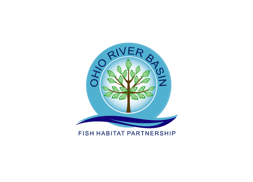 Ohio River Basin Fish Habitat Partnership or ORBFHP A Logo, Monogram, or Icon  Draft # 49 by jp1876