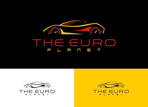 The Euro Planet A Logo, Monogram, or Icon  Draft # 5 by Adwebicon