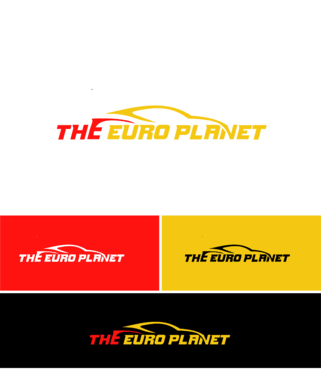 The Euro Planet A Logo, Monogram, or Icon  Draft # 14 by saimnaaz