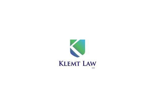 Klemt Law, LLC A Logo, Monogram, or Icon  Draft # 129 by logoon