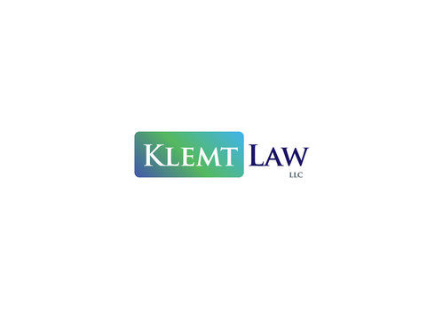 Klemt Law, LLC A Logo, Monogram, or Icon  Draft # 130 by logoon