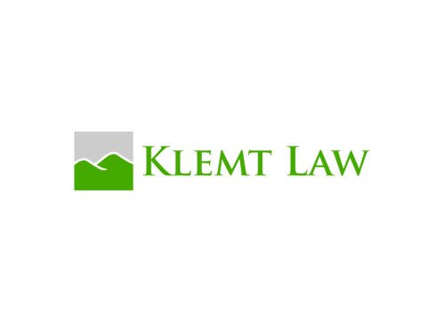 Klemt Law, LLC A Logo, Monogram, or Icon  Draft # 132 by ninisdesign