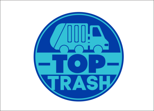 TOP Trash A Logo, Monogram, or Icon  Draft # 384 by UniekDesign