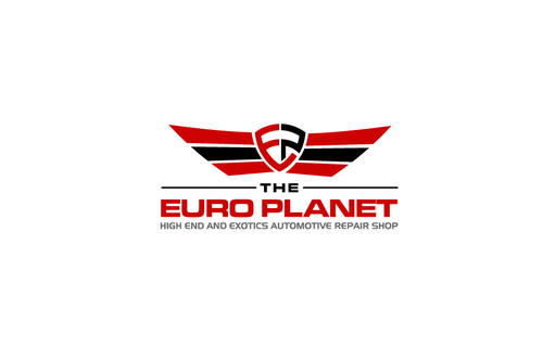 The Euro Planet A Logo, Monogram, or Icon  Draft # 90 by LADYart
