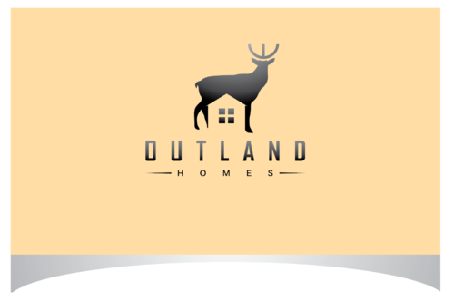 OutLand homes  A Logo, Monogram, or Icon  Draft # 18 by bloomingbud