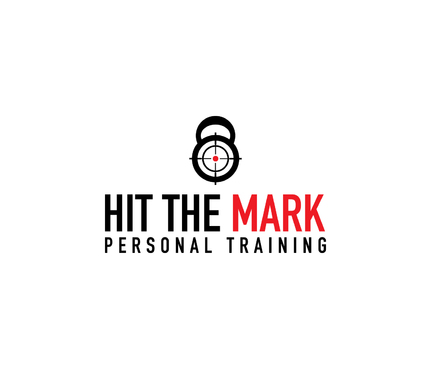 """Hit the Mark"" Personal Training  A Logo, Monogram, or Icon  Draft # 11 by DiscoverMyBusiness"