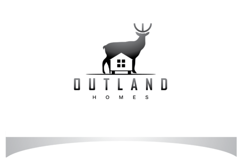 OutLand homes  A Logo, Monogram, or Icon  Draft # 47 by bloomingbud