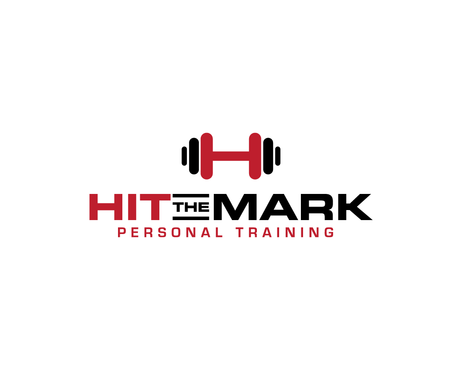 """Hit the Mark"" Personal Training  A Logo, Monogram, or Icon  Draft # 23 by Goldeni"
