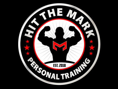 """Hit the Mark"" Personal Training  A Logo, Monogram, or Icon  Draft # 24 by NoyPiArtist"