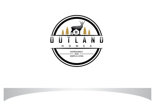 OutLand homes  A Logo, Monogram, or Icon  Draft # 53 by bloomingbud