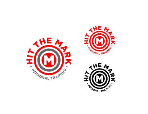 """Hit the Mark"" Personal Training  A Logo, Monogram, or Icon  Draft # 29 by odc69"