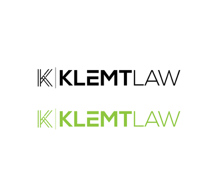 Klemt Law, LLC A Logo, Monogram, or Icon  Draft # 148 by DiscoverMyBusiness