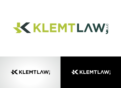Klemt Law, LLC A Logo, Monogram, or Icon  Draft # 162 by Adwebicon