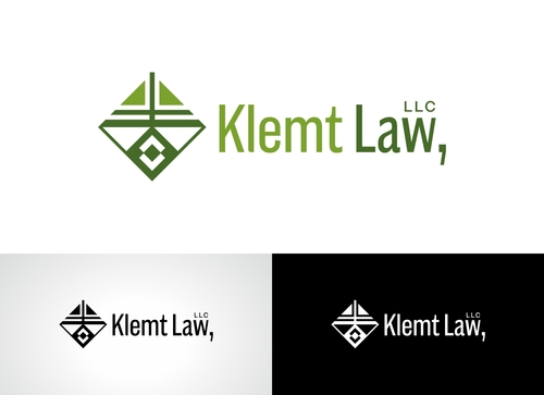 Klemt Law, LLC A Logo, Monogram, or Icon  Draft # 163 by Adwebicon