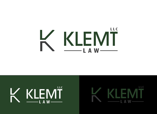 Klemt Law, LLC A Logo, Monogram, or Icon  Draft # 164 by Adwebicon