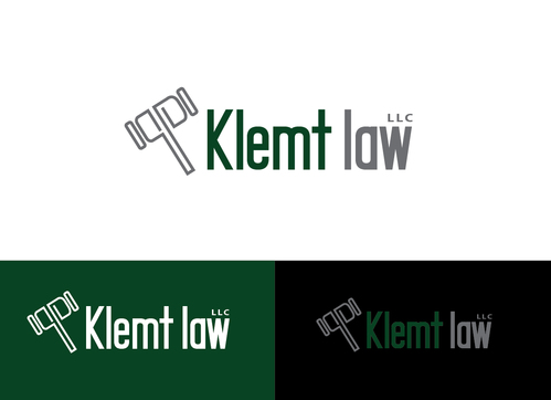 Klemt Law, LLC A Logo, Monogram, or Icon  Draft # 172 by Adwebicon