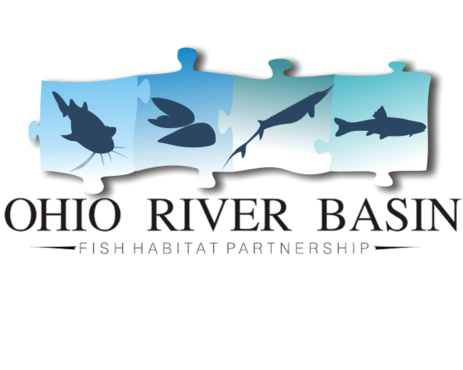Ohio River Basin Fish Habitat Partnership or ORBFHP A Logo, Monogram, or Icon  Draft # 58 by trugrit