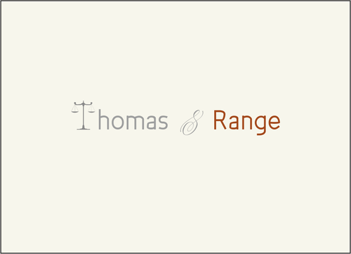 Thomas & Range A Logo, Monogram, or Icon  Draft # 32 by nagoor