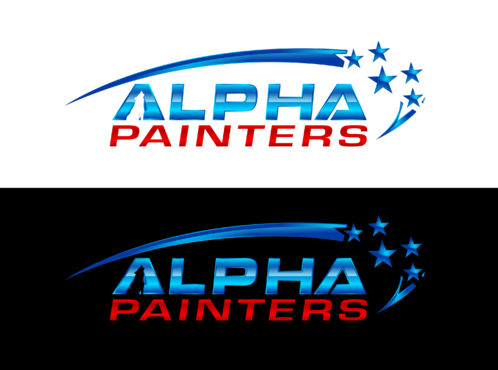 Alpha Painters A Logo, Monogram, or Icon  Draft # 96 by anijams