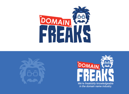 Domain Freaks A Logo, Monogram, or Icon  Draft # 5 by mnorth