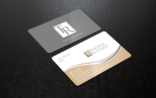 Modern, Professional & Sophisticated Law Firm Card