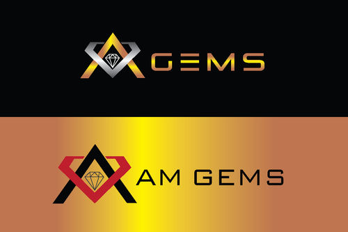 AM Gems A Logo, Monogram, or Icon  Draft # 113 by TheTanveer