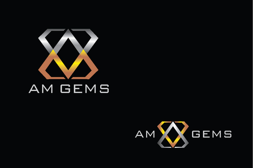 AM Gems A Logo, Monogram, or Icon  Draft # 120 by TheTanveer